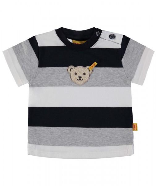 Jungen-Shirt-Blockstreifen-grau-Steiff-6833641-front