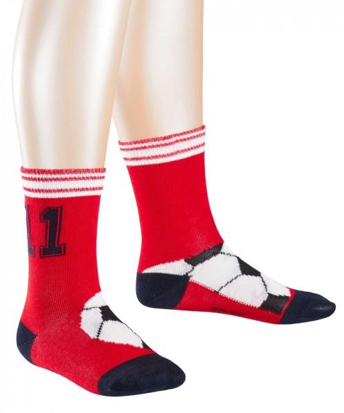 Jungen-Socken-Soccer-rot-Falke-12075-8074-front1