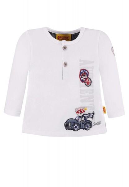 Kinder-Langarmshirt-weiß-Steiff-6843611-front