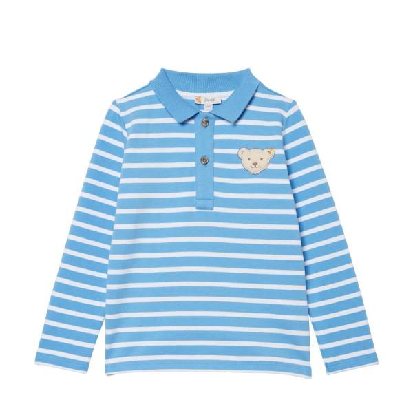 Kinder-Langarmshirt-hellblau-gestreift-Steiff-l001912103-front