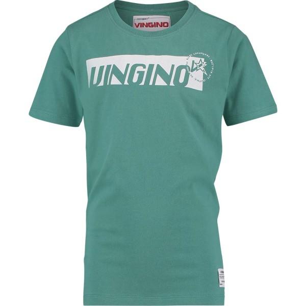 Jungen-T-Shirt-Hadrea-petrol-Vingino-30017218-front