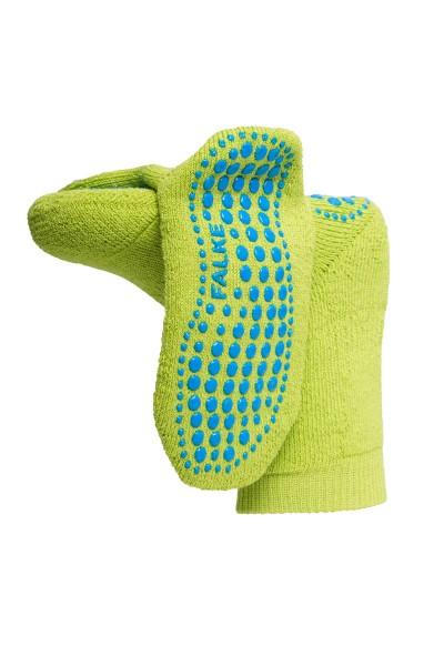 Anti-Rutsch-Socken-Kinder-limettengrün-Falke-10500-7601