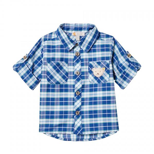 Baby-Hemd-blau-kariert-Steiff-l001913324-front