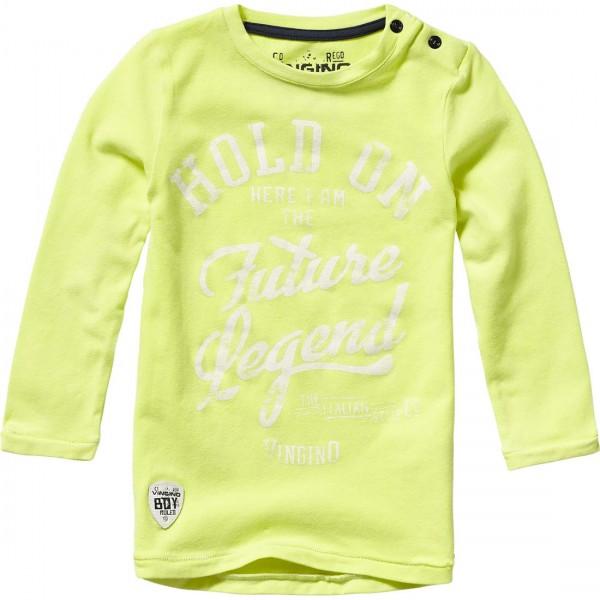 Kinder-Langarmshirt-Jelino-neongelb-Vingino-36001300-front