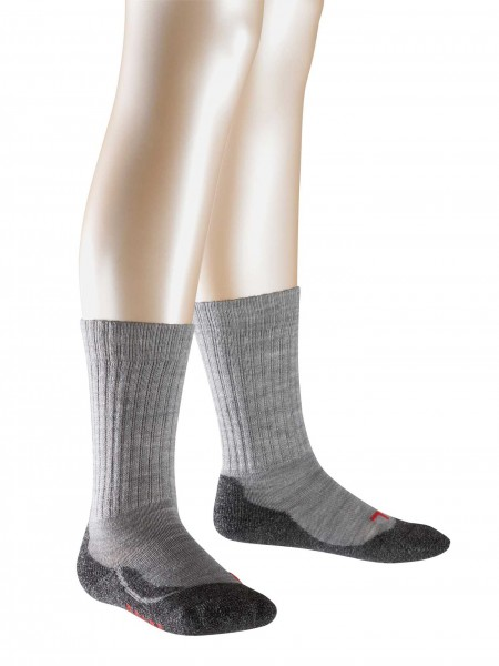 Kinderstrümpfe-grau-Falke-10450-3530