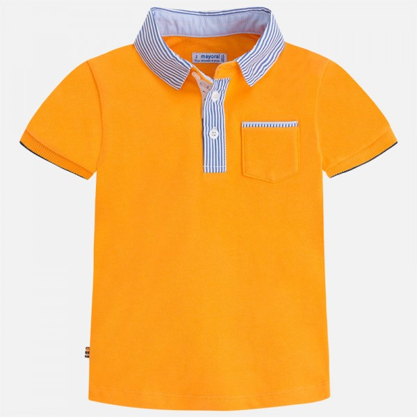 Jungen-T-Shirt-Polo-orange-mayoral-3124091-front