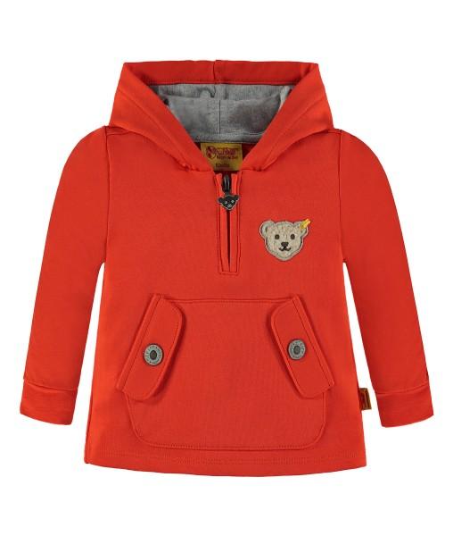 Sweatshirt Jungen orange