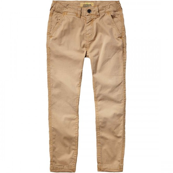 Jungen-Stoffhose-Sando-beige-Vingino-40004025-front
