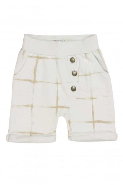 Kurze-Hose-für-Jungen-beige-creme-Bellybutton-1763515-front
