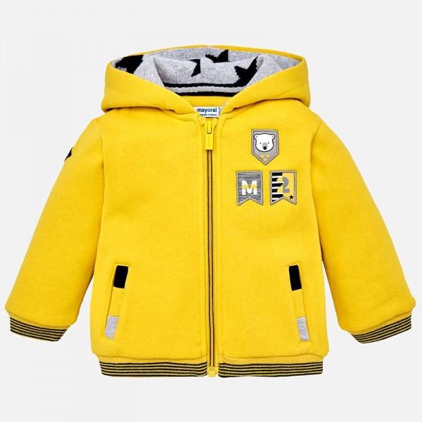 Jungen-Sweatjacke-gelb-mayoral-249145-Front