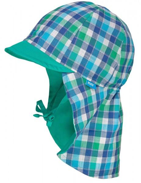 Mütze-mit-Nackenschutz-kariert-maximo-94500-026600