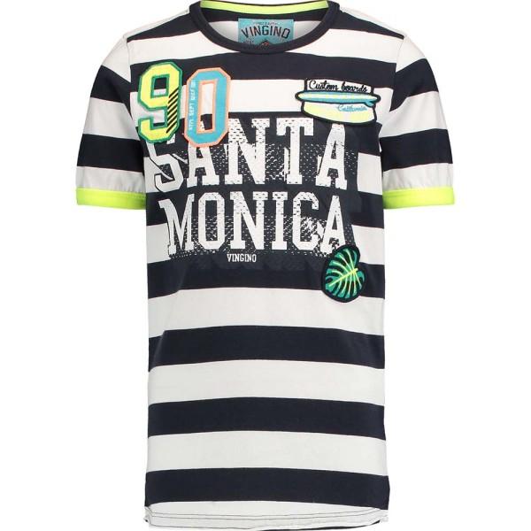 Jungen-T-Shirt-Horace-Blockstreifen-Vingino-30020100-front