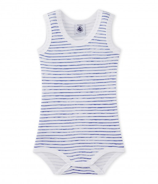 Petit Bateau-Jungen-Träger-Body-weiß-mit-blauem-Streifen-Design-27718-40-1FRONT.JPG