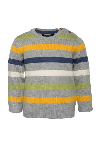 Jungs-Pullover-grau-Streifen-mayoral-2329-036-front