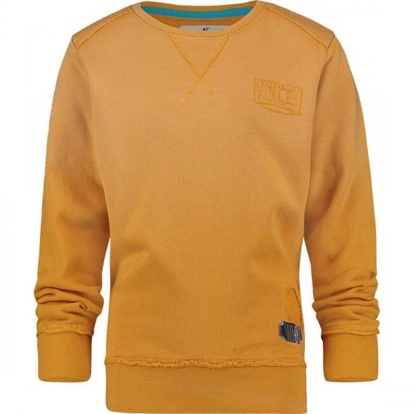 Jungen-Sweatshirt-Niels-senfgelb-Vingino-34002305-front